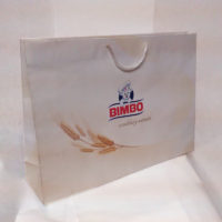 GS papel kraft blanco 4 colores. Bimbo